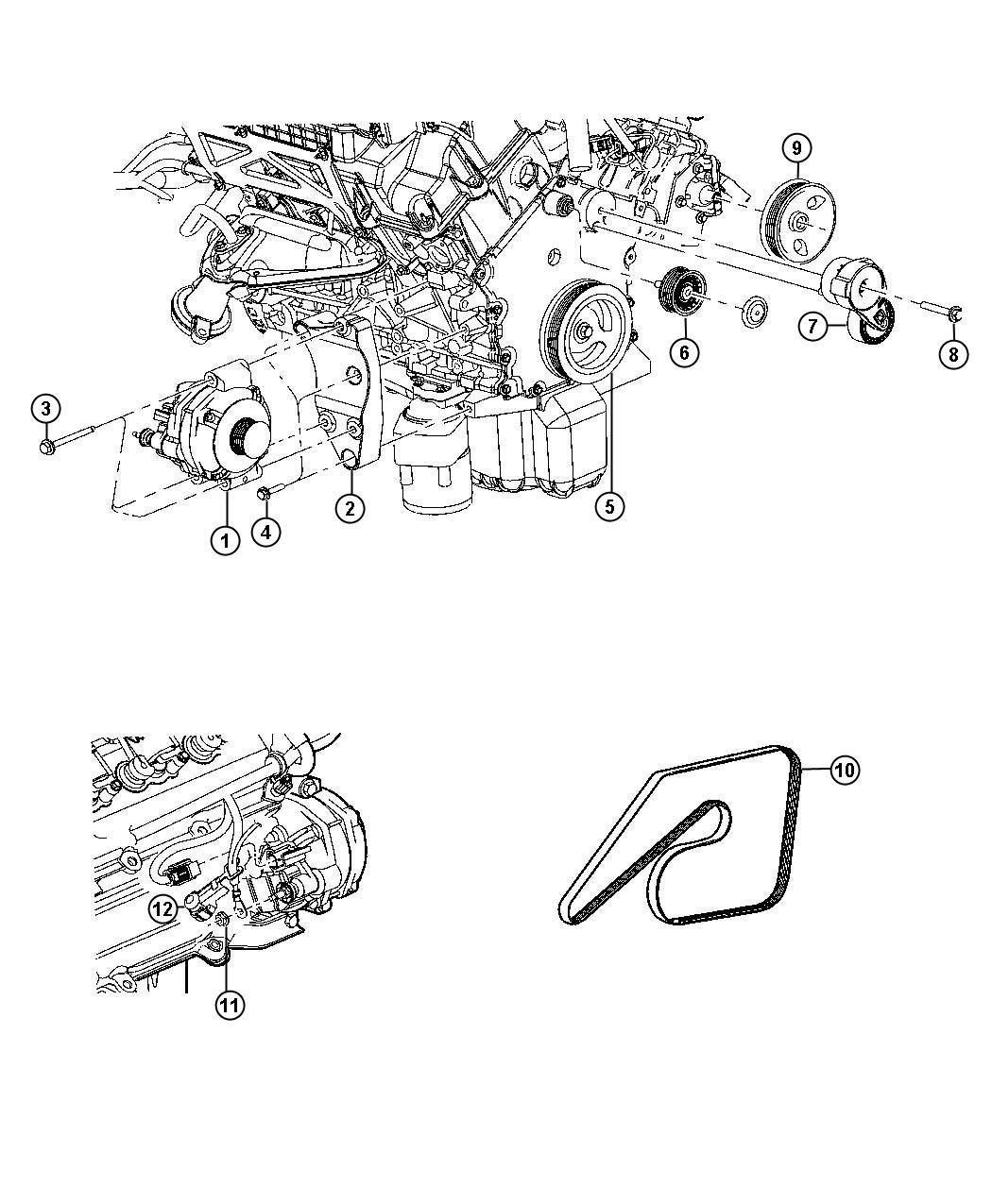 Chrysler 300 Generator. Engine. Remanufactured. [160 amp