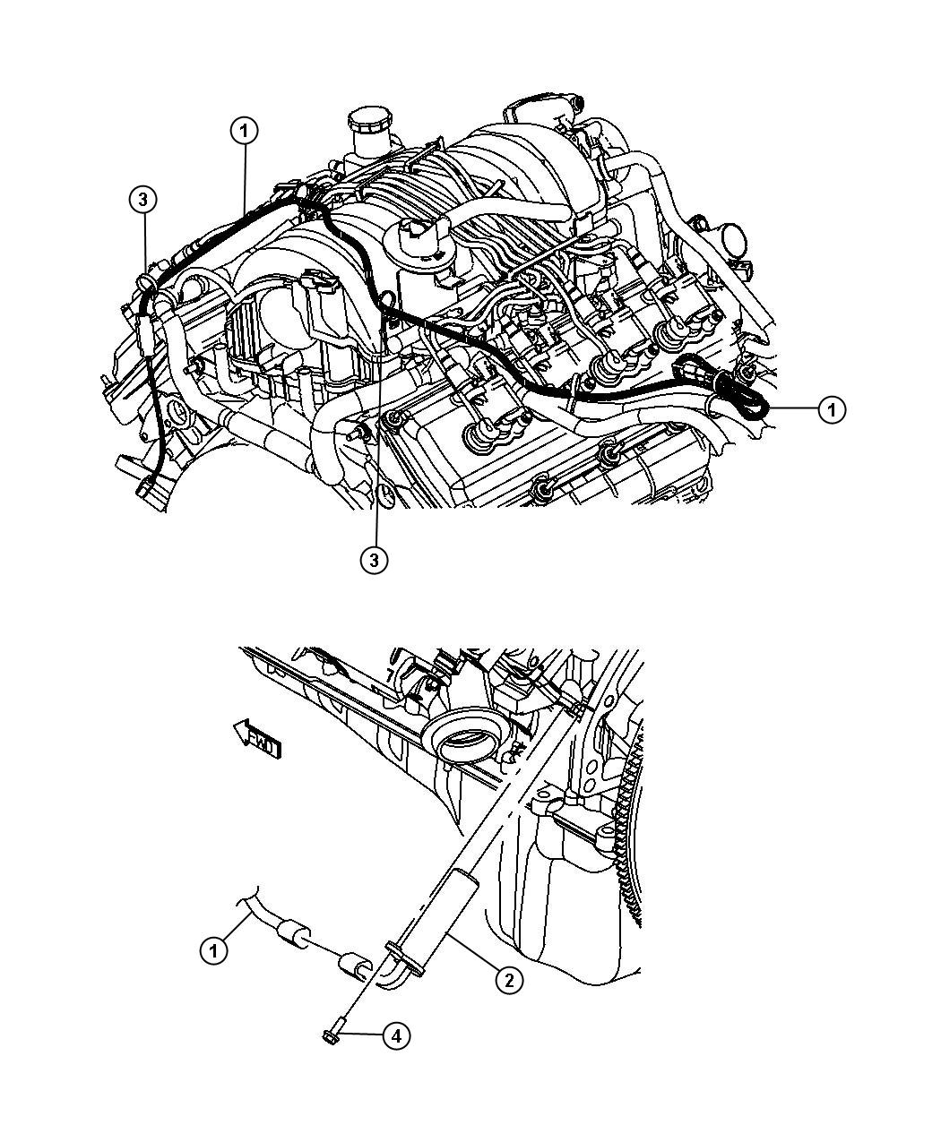 Dodge Charger Cord. Engine block heater. Mds, hemi