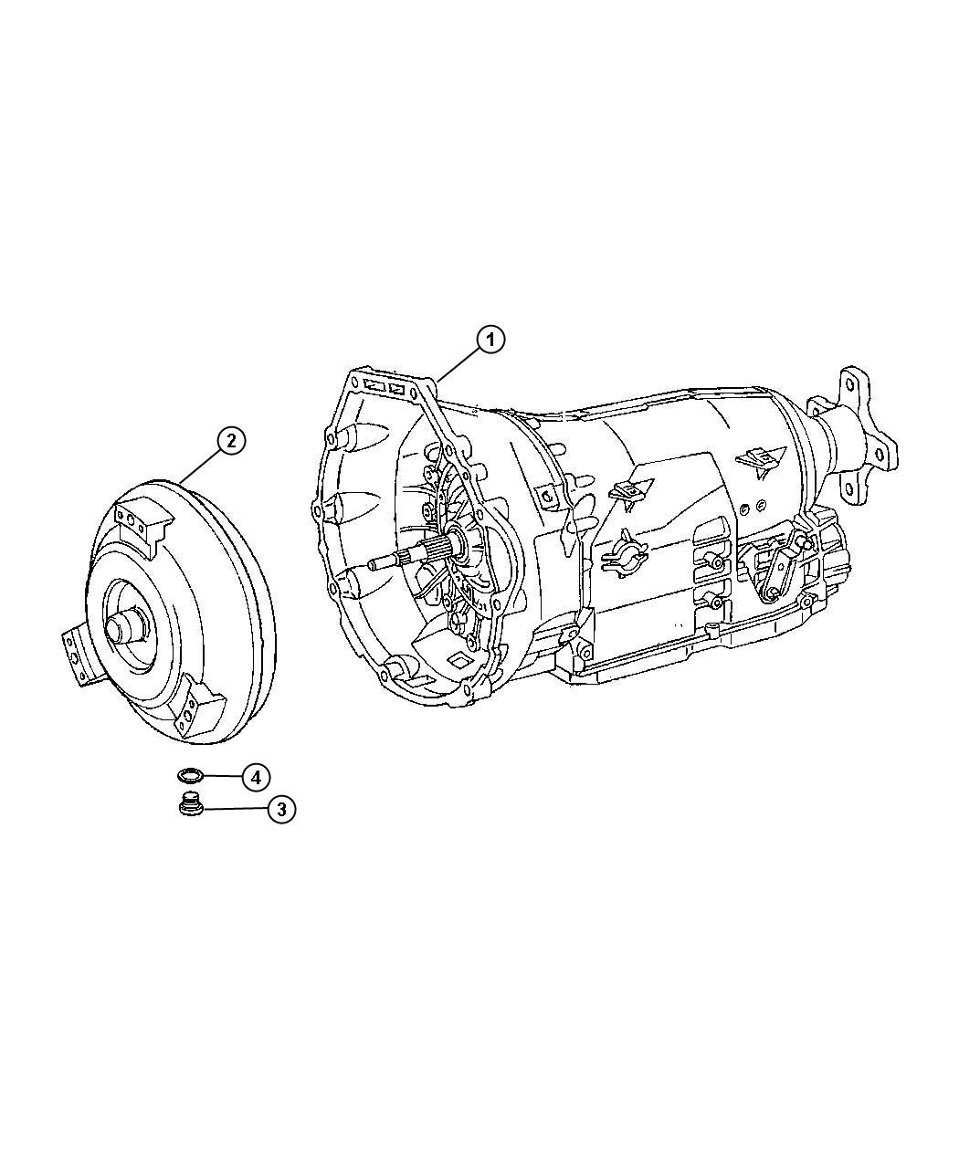 Dodge SPRINTER Transmission. Automatic. Remanufactured