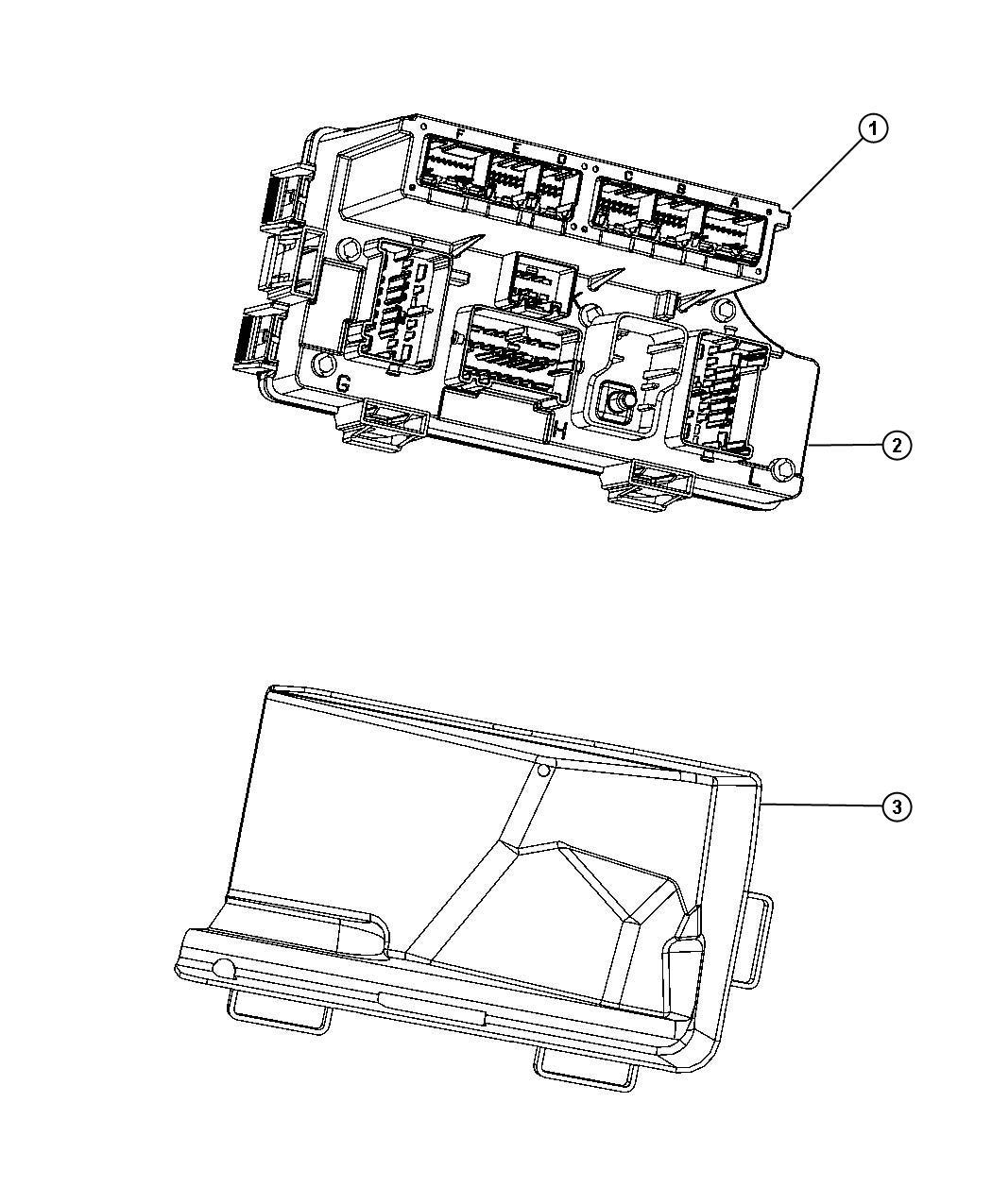 Dodge Avenger Fuse. Mini. 30 amp, green. Export, mexico