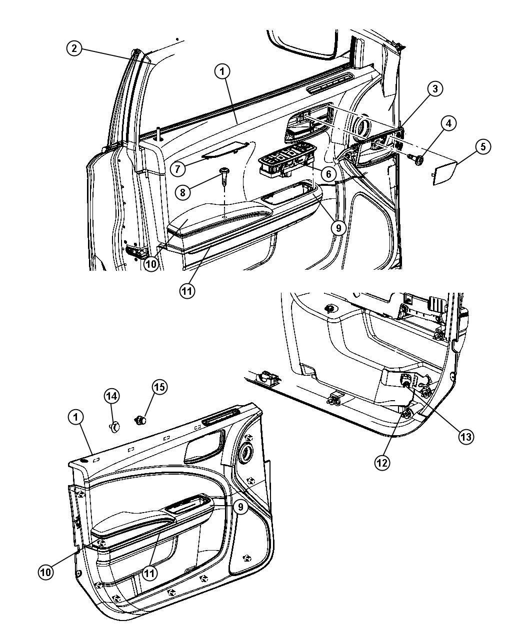 Dodge Charger Handle Inside Release Inside Remote