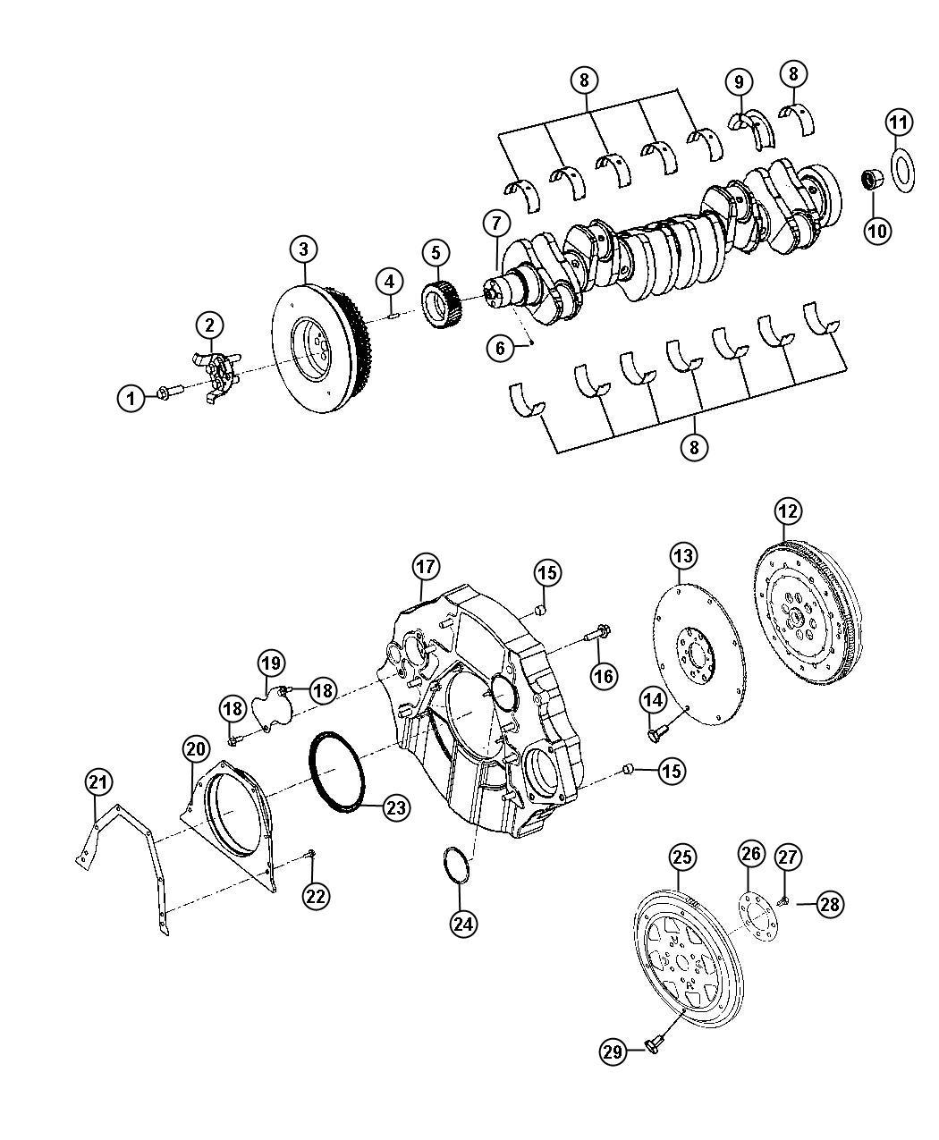 Ram 4500 Adapter. Transmission. Automatic transmission