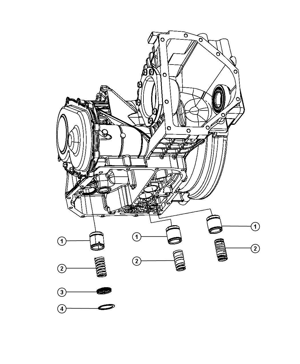 Chrysler 200 Cover. Accumulator. [european commercial prep