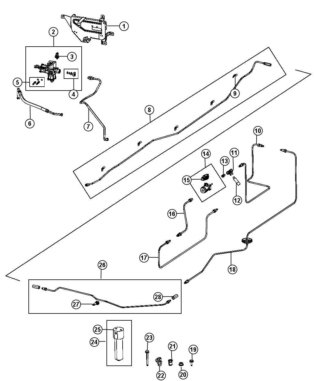 Ram 2500 Filter kit. Fuel pressure regulator. Cng. Lines