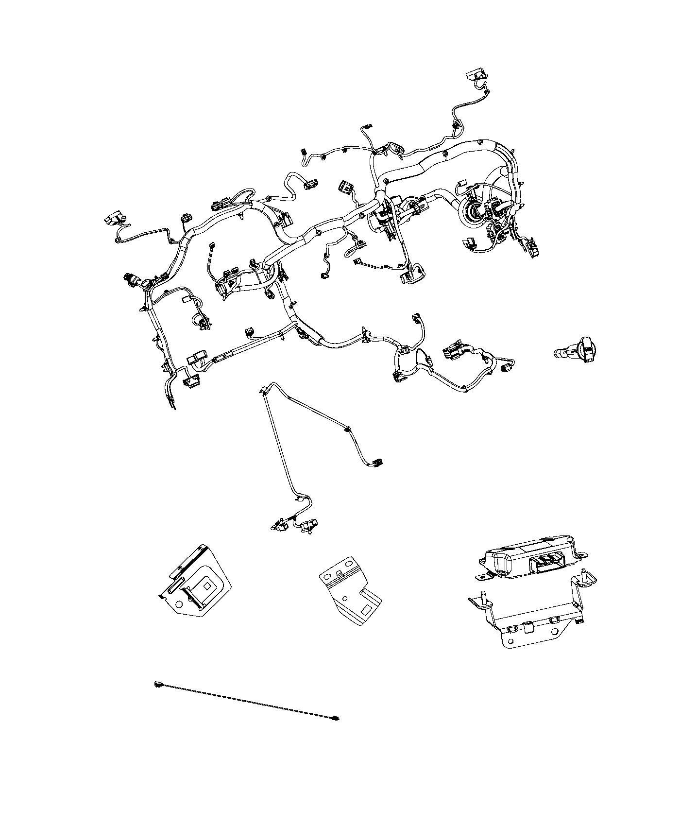 Ram Wiring Instrument Panel