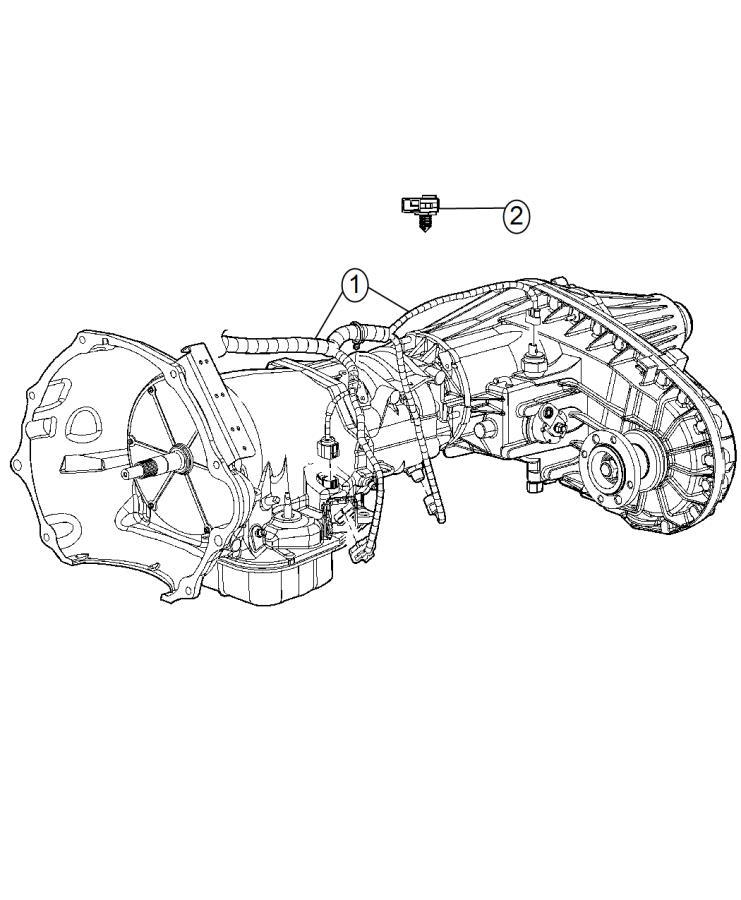 Ram 3500 Wiring. Transmission. [180 amp alternator], [man