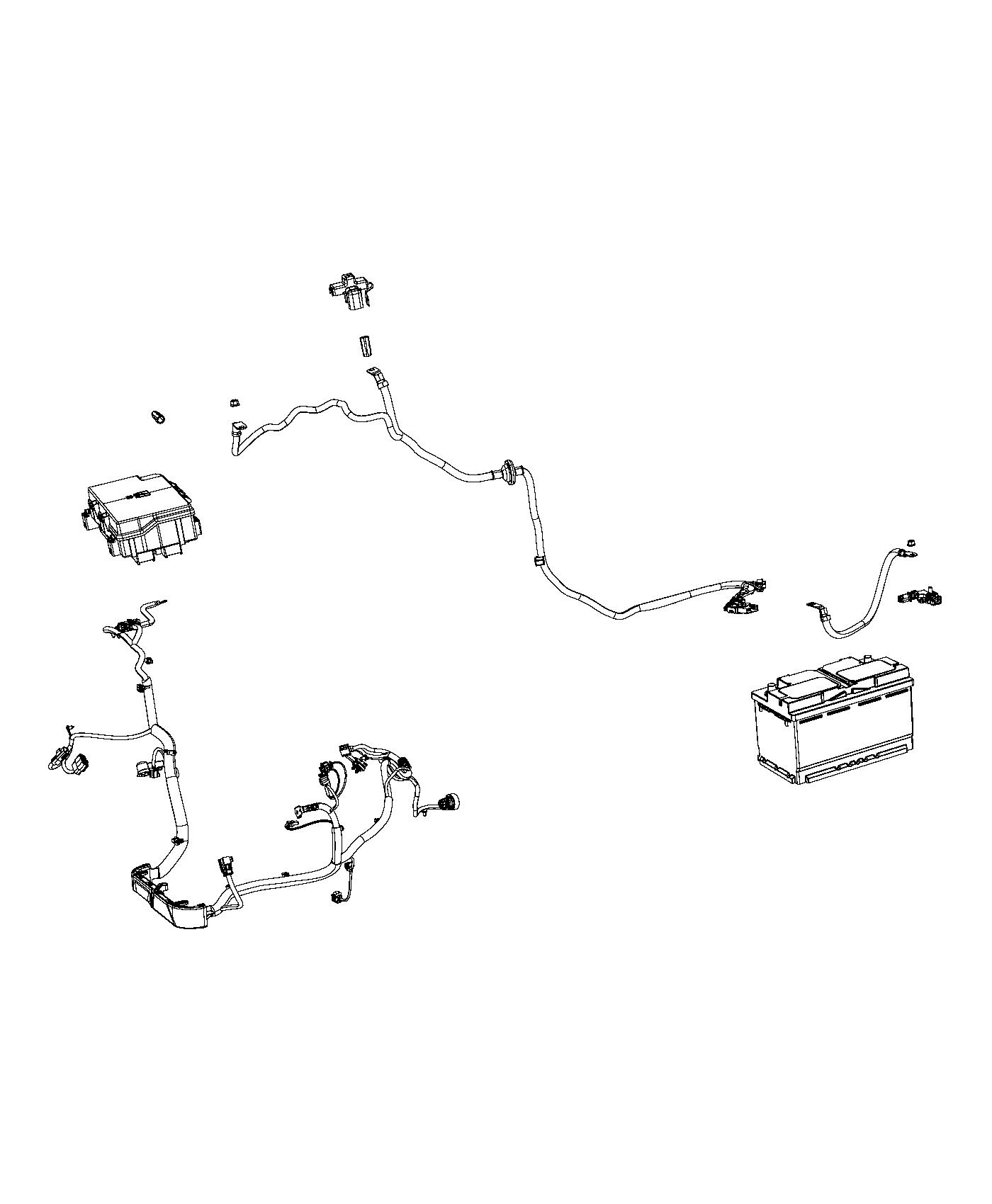 Jeep Grand Cherokee Wiring. Alternator starter power
