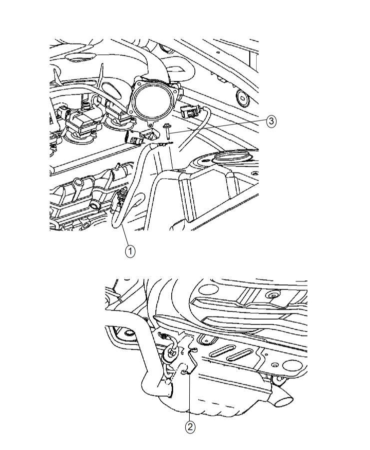Chrysler 300 Strap. Ground. Engine, radio ground, radio