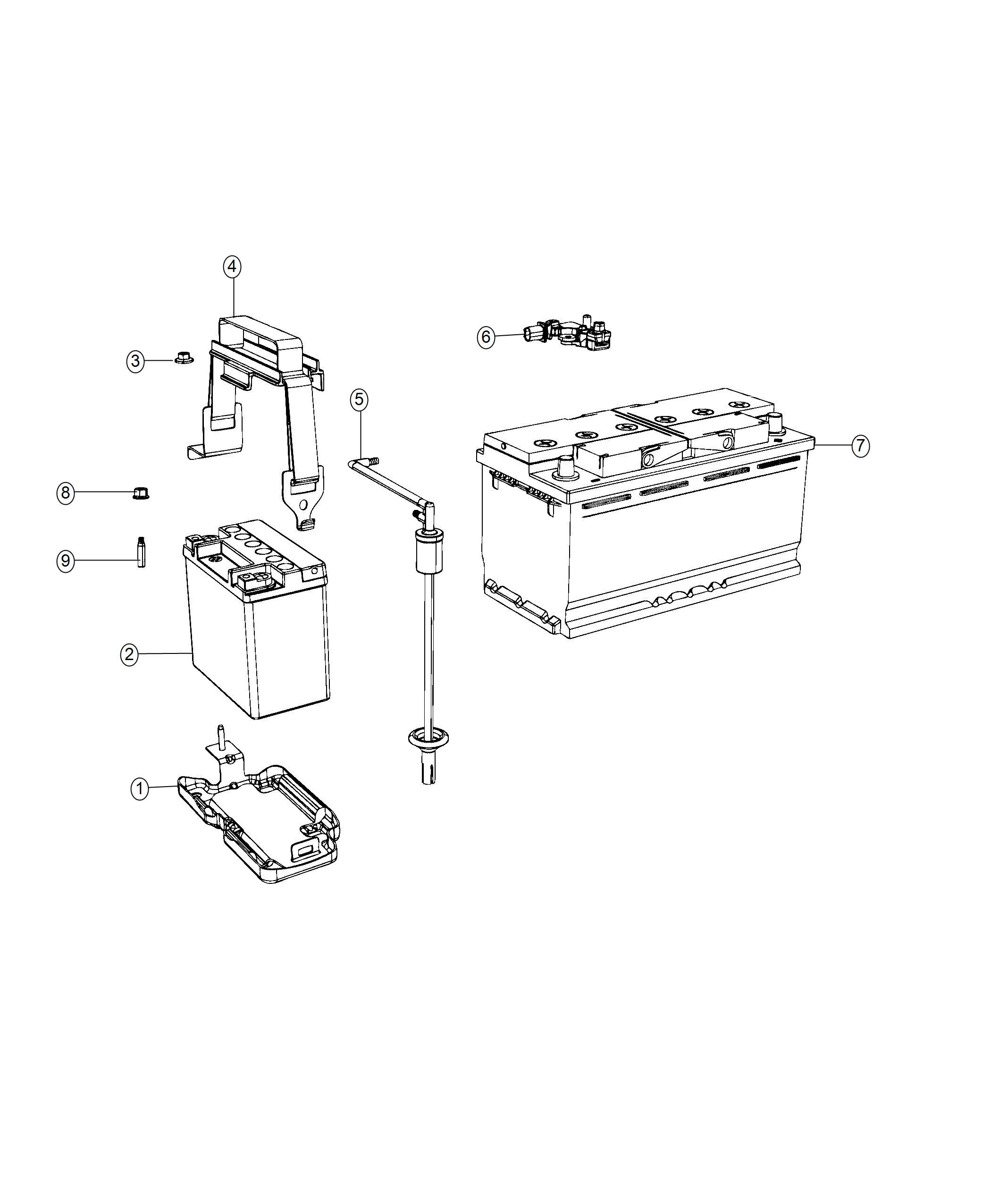 2004 Jeep Grand Cherokee Sensor. Battery. Negative cable