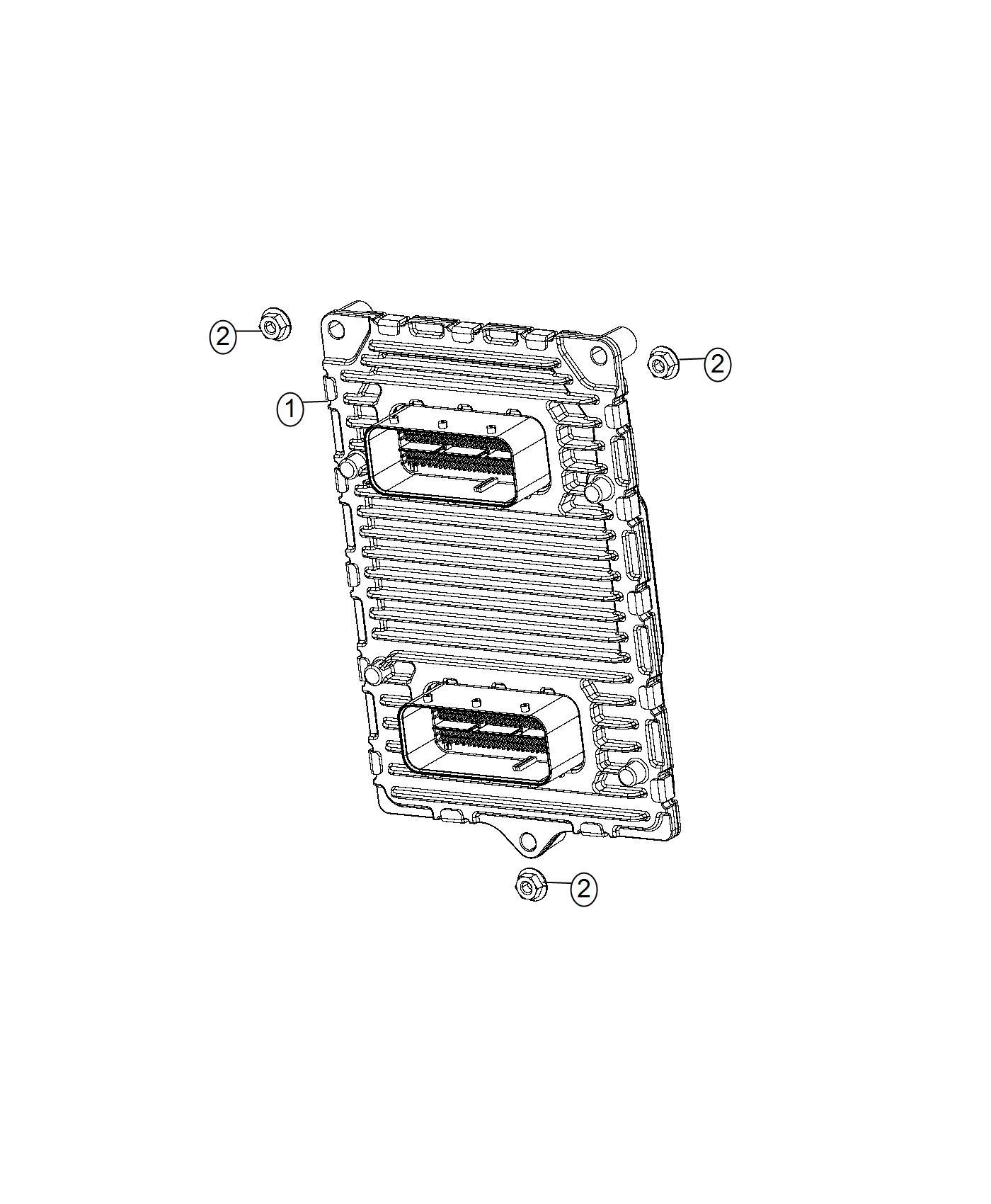 Jeep Compass Module. Engine controller. Mopar, modules