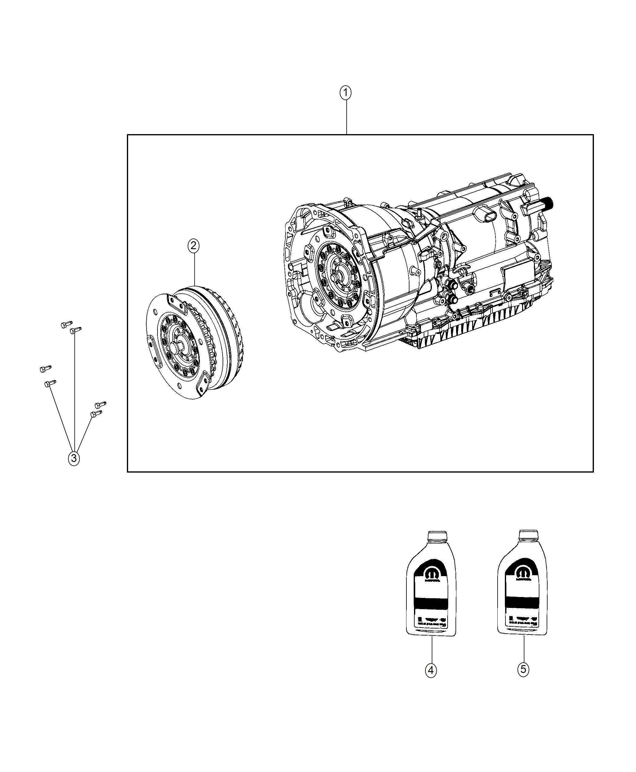 Jeep Wrangler Bolt. Hex flange head. M8x1.25x20.00
