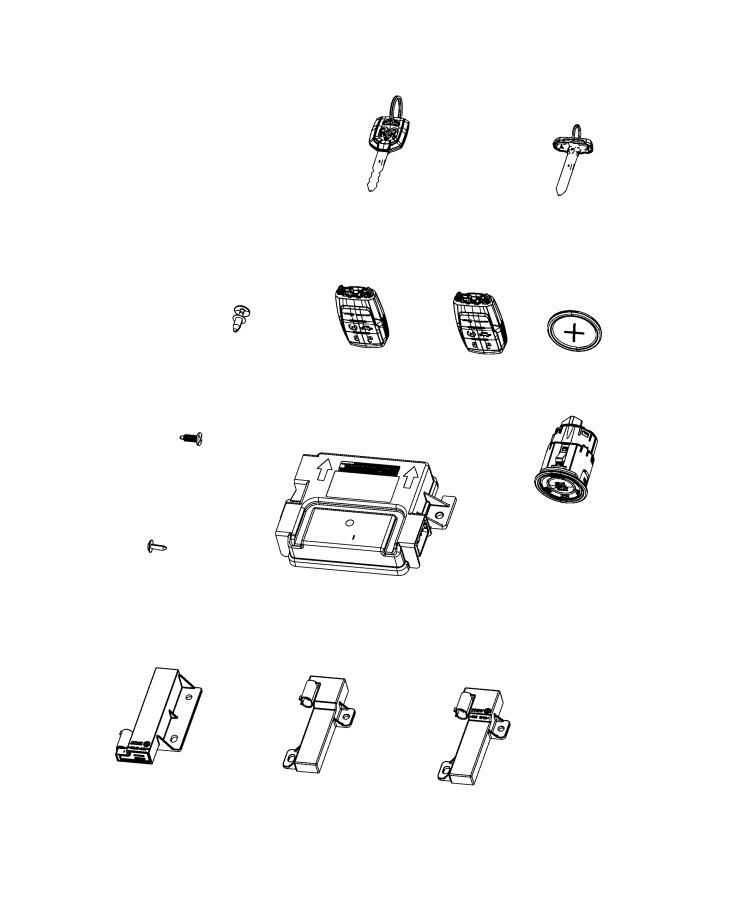 Ram 2500 Switch. Ignition. Push button. Trim: [*o0] color