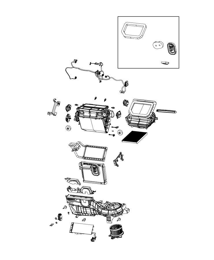 Jeep Wrangler Housing. Distribution. [hab], [instrument