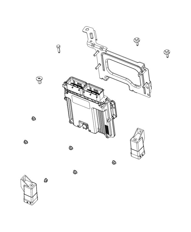 Jeep Wrangler Module. Powertrain control. Generic. Modules