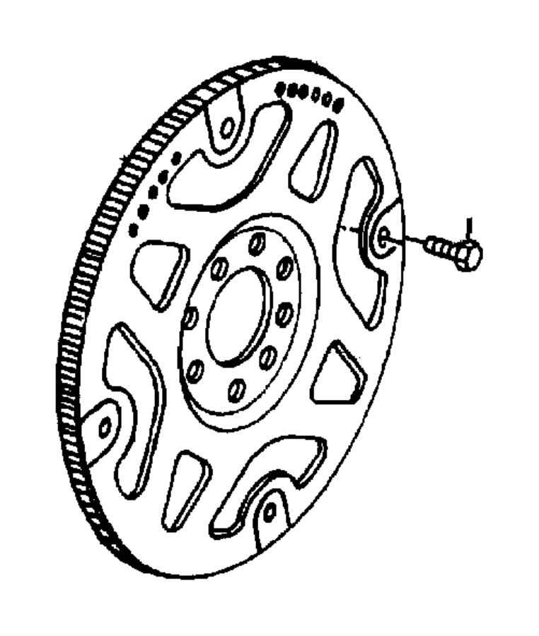 Chrysler Aspen Bolt. Hex head, hex head lock. M10x1.50 x
