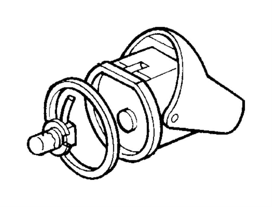 Dodge Viper Bulb. Fog lamp. H-3 55 watt. Right or left
