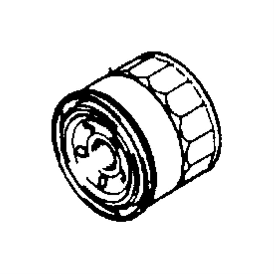Dodge Avenger Filter. Engine oil. Oil (cartridge type