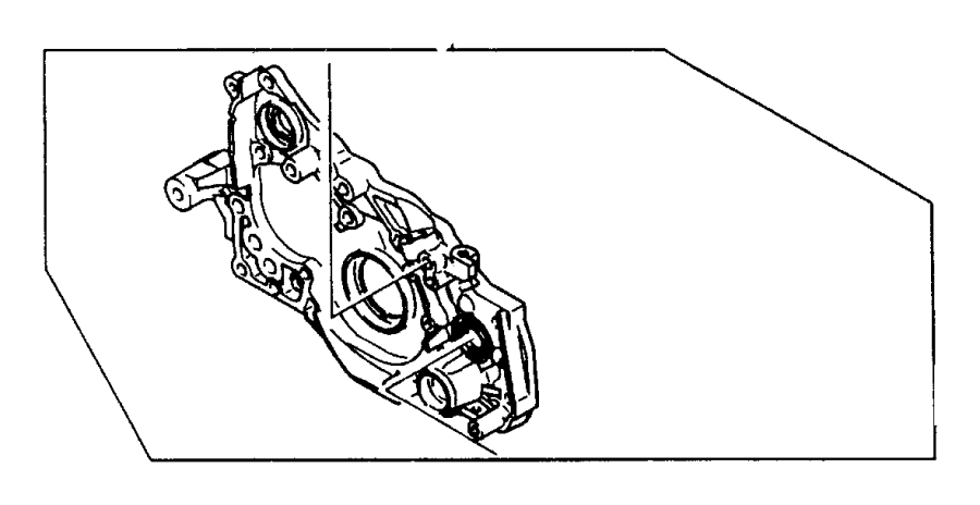 Dodge Avenger Plug. Cylinder block oil hole. Engine oil