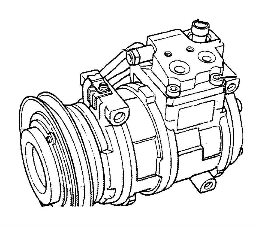 Chrysler PT Cruiser Switch. A/c high pressure cut off
