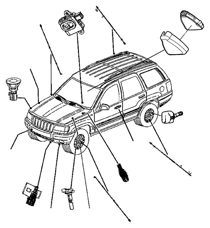 Dodge Ram 2500 Sensor. Battery temperature. After 03/08/04