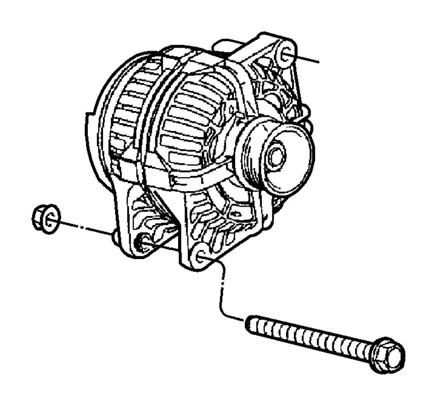 Dodge Durango Generator. Engine. Remanufactured. [136 amp