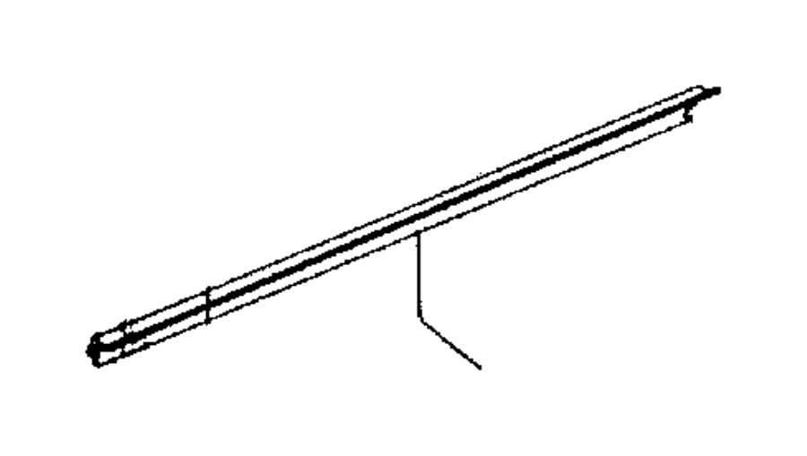 Dodge Dakota Seal, weatherstrip. Door belt, glass run