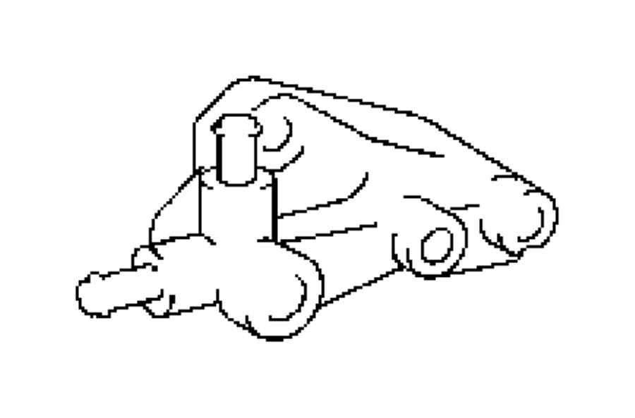 Jeep Grand Cherokee Sending unit, sensor. Oil temperature