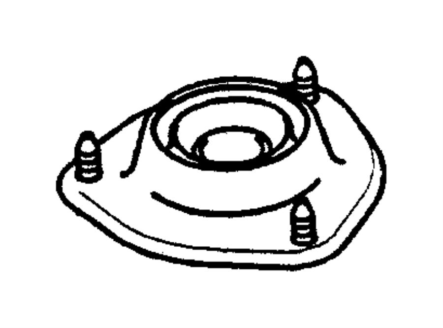 Dodge Stratus Nut. Front suspension. M12 self locking