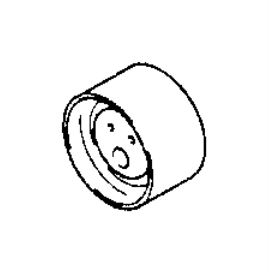 Chrysler Cirrus Pulley. Tensioner. Timing belt tensioner