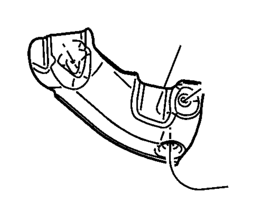 Dodge NITRO Shield. Floor pan. Silencers, sheild, mopar