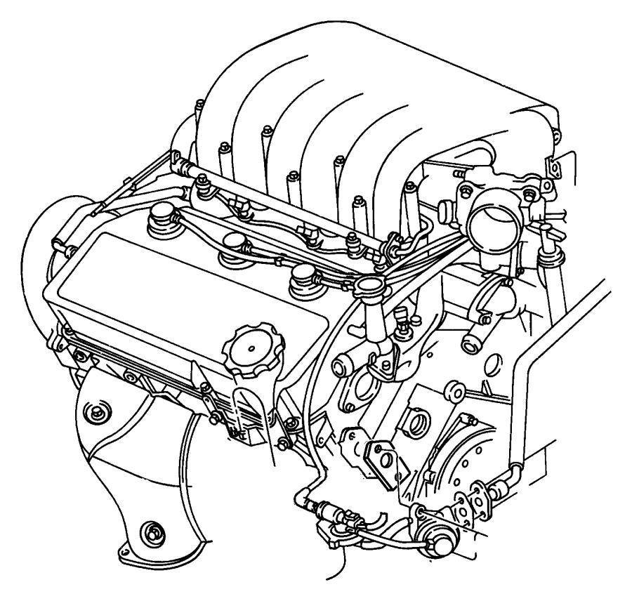 Chrysler Sebring Valve. Egr. Emissions, federalemissions