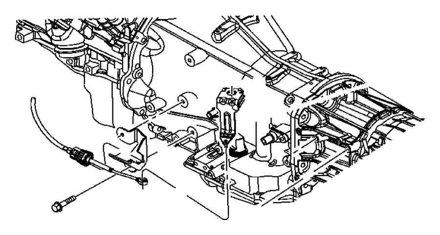 Jeep Commander Lever. Manual control. Gearshift, bracket