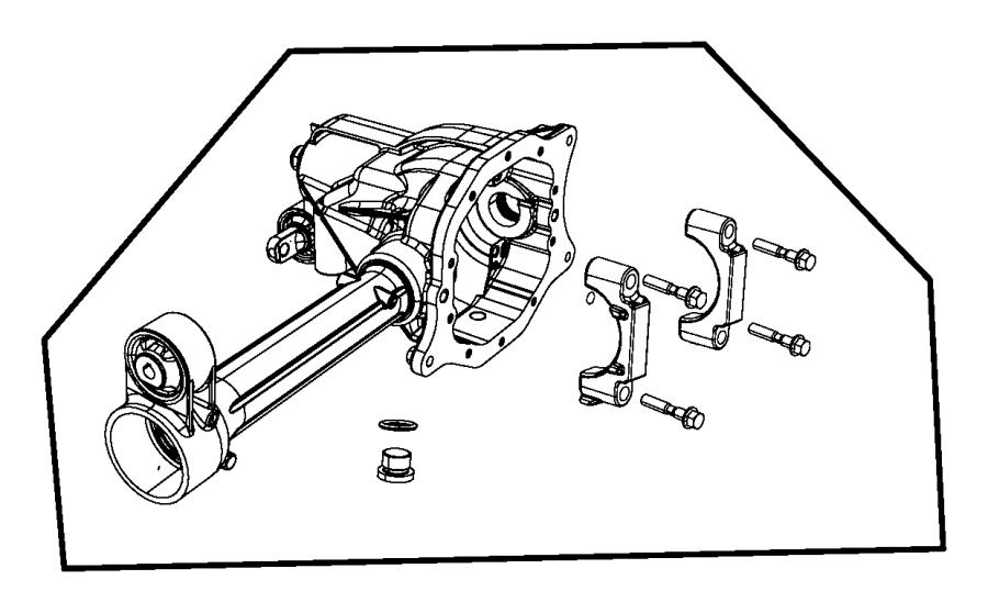 Jeep Liberty O ring. Mounting. Drain plug, fits over hub