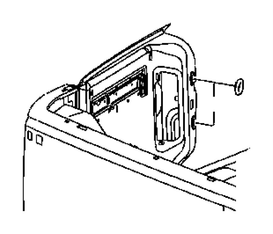 Dodge Ram 1500 Plug. Body. 19x25 plastic. Used for: right