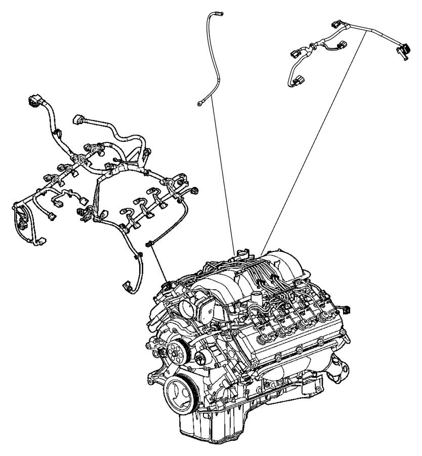 Chrysler Aspen Wiring. Jumper. Multiple displacement