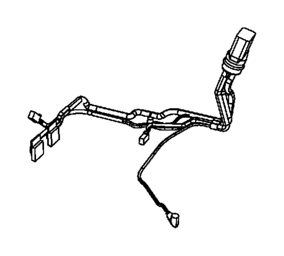 Dodge Ram 4500 Harness, wiring. Transmission. 10 pin