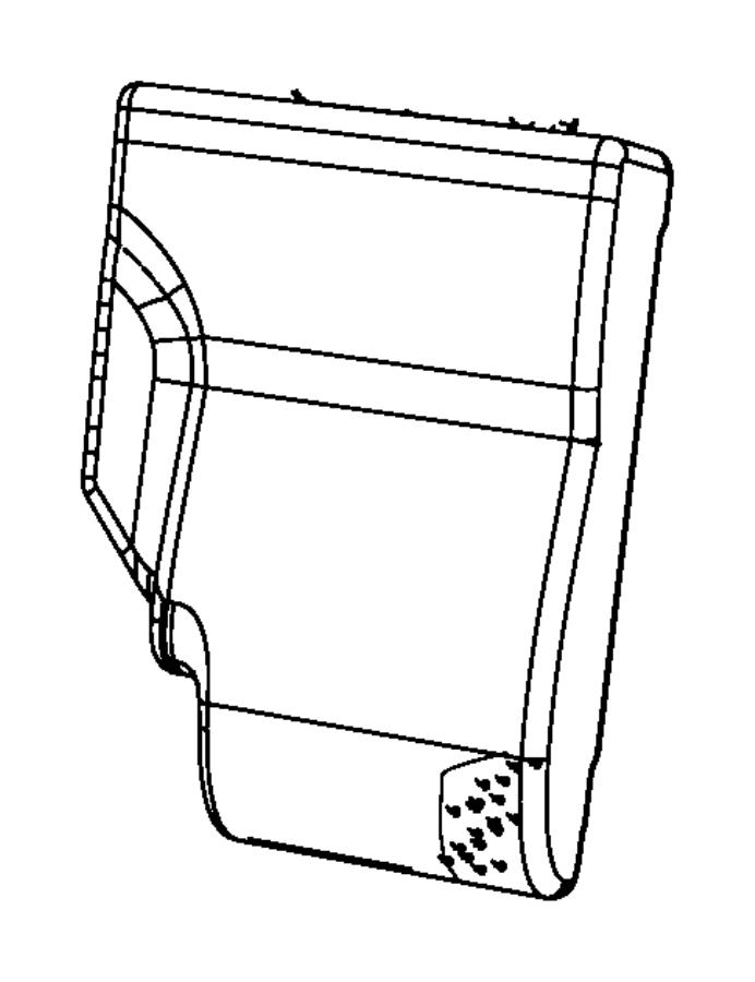 Dodge NITRO Cover. Seat back. [k7], [ka], [ka], export