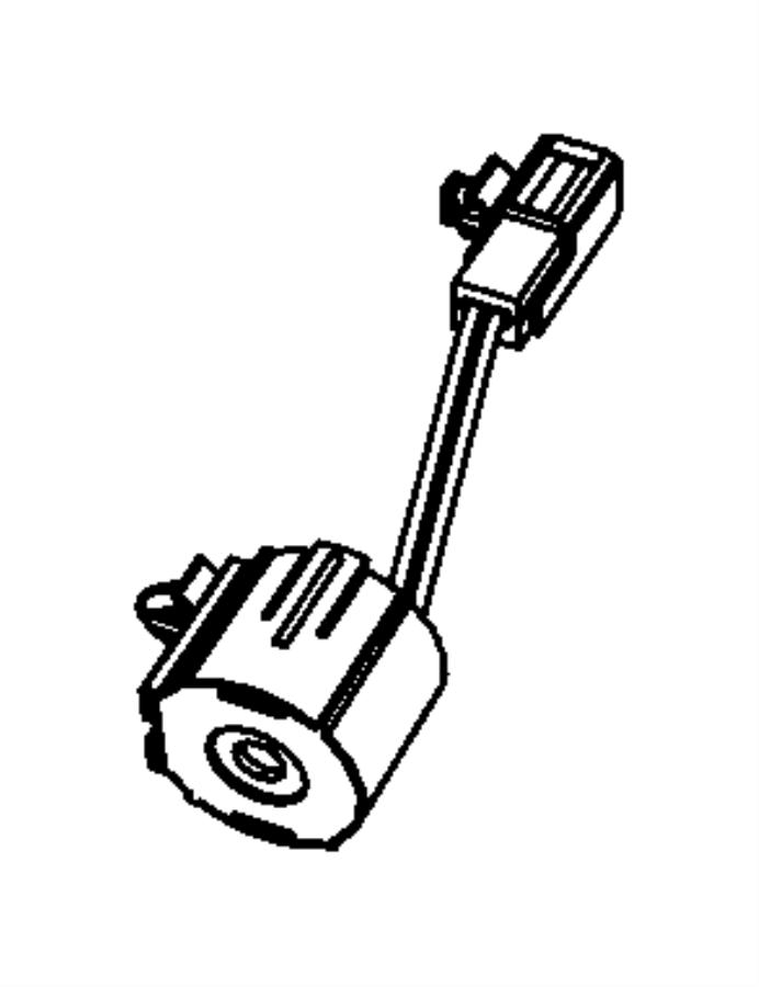 Chrysler Aspen Chime. Warning. [power liftgate], [power