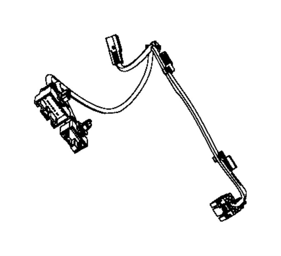 Ram 1500 Wiring. Seat air bag. Trim: [cloth low-back