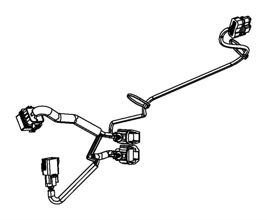 Chrysler 200 Wiring. Jumper. Air pump. Engine, vvt, dual