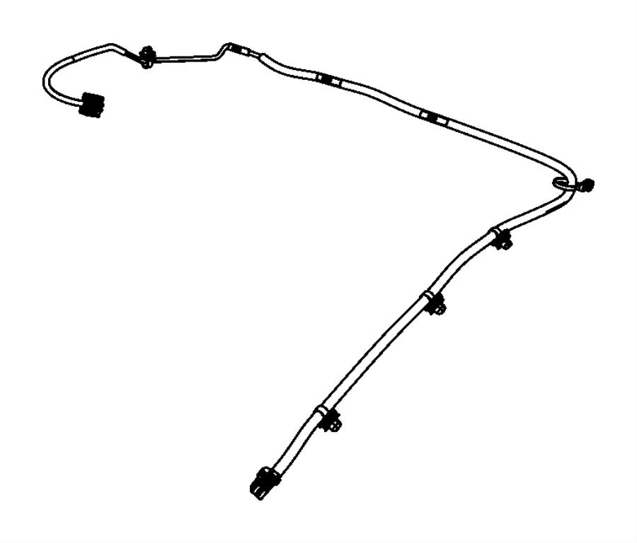 Dodge Avenger Wiring. Mirror jumper. [rr view auto dim
