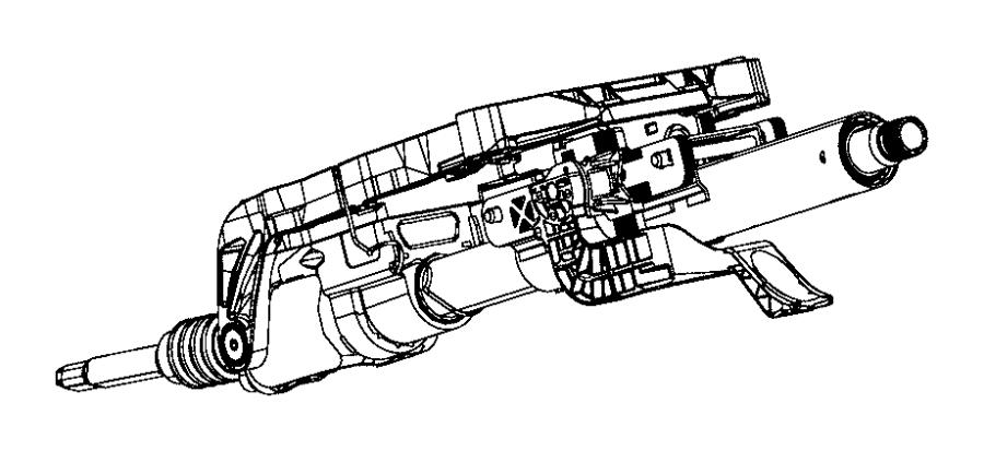 Dodge Durango Column. Steering. Export. [tilt/telescope
