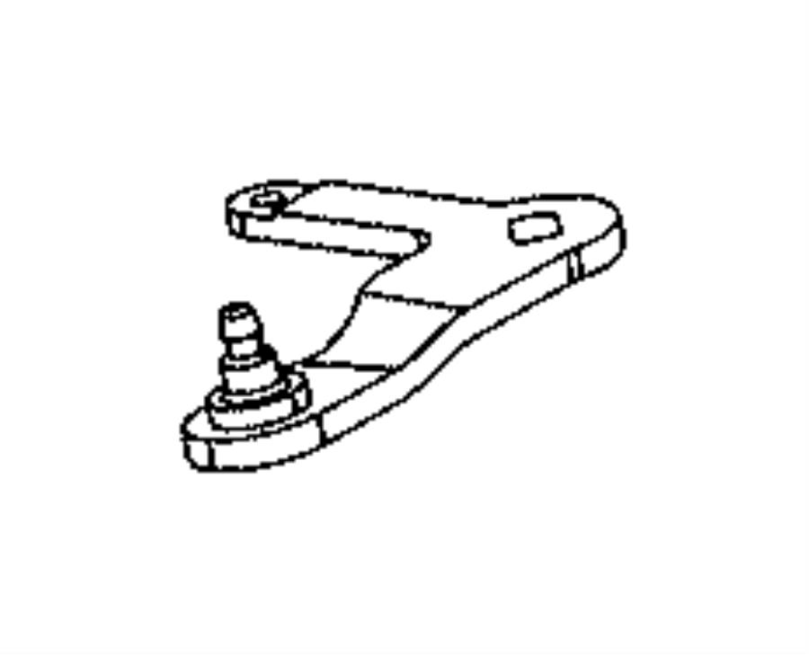 Jeep Compass Lever. Manual valve. Train, power, module