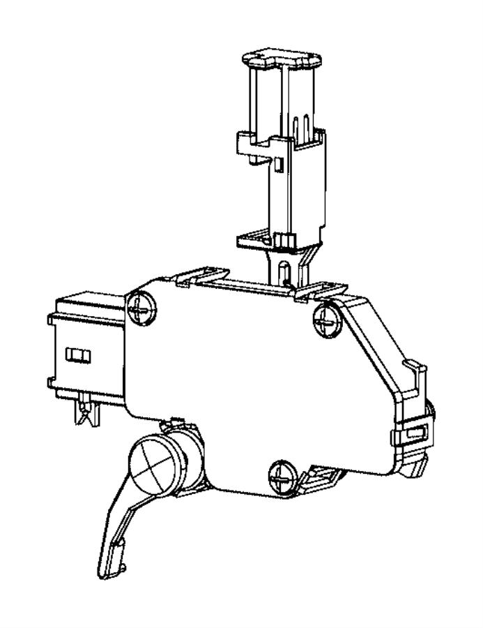 Dodge Dart Switch. Clutch starter interlock. [6-spd c635