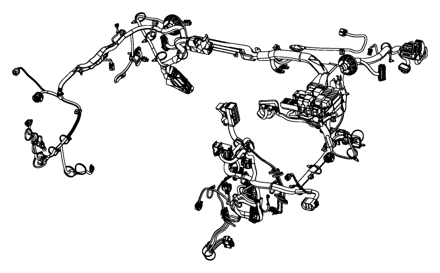 Dodge Dart Wiring. Headlamp to dash. [heater w/instrument