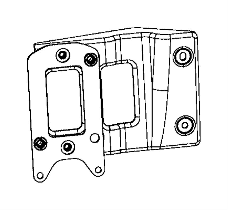 Jeep Cherokee Bracket kit. Adaptive cruise control