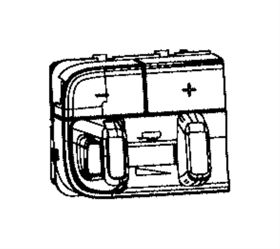 Ram 2500 Switch. Instrument panel, trailer brake control