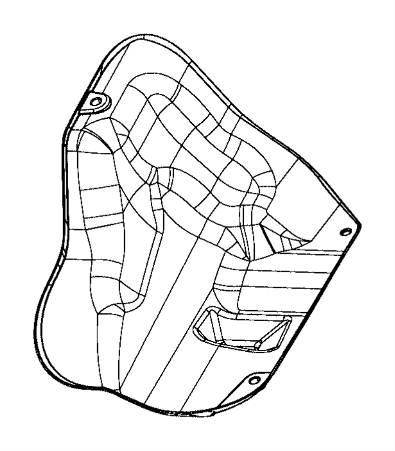 Ram 3500 Tray. Oil drain. Engine, filter, adapter