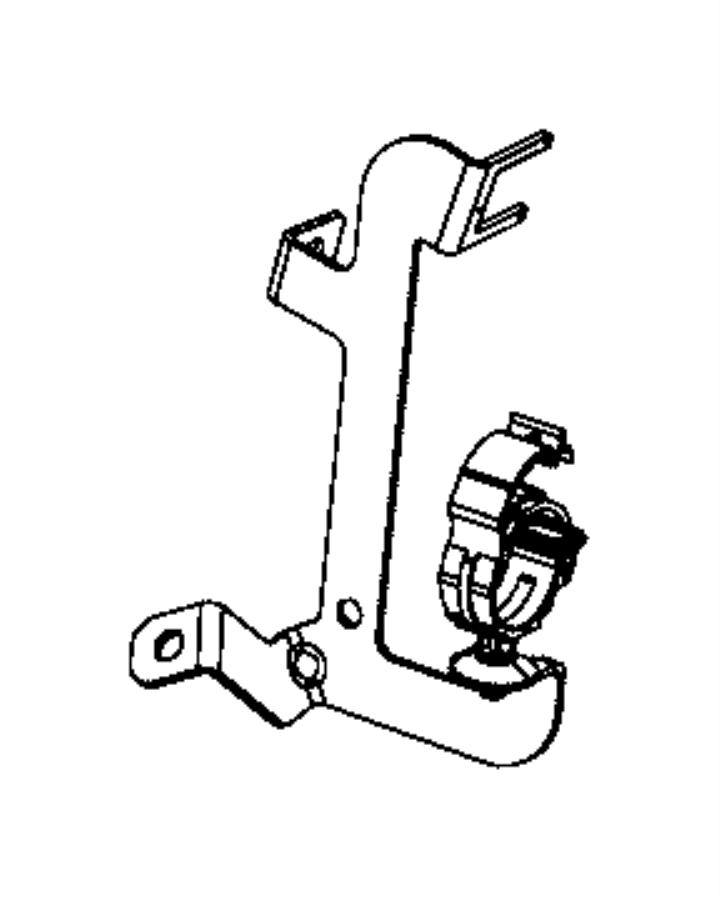 Ram 2500 Sensor. Temperature/pressure. Dpf 1/2. Exhaust
