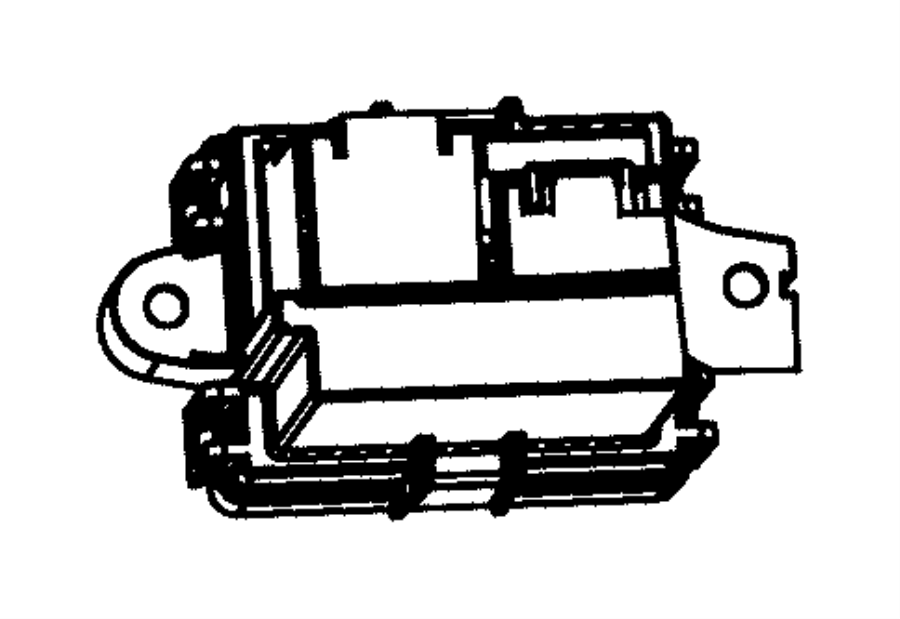 Jeep Grand Cherokee Module. Power. Blower motor
